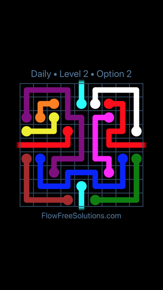 Solution and Answer to the Puzzle for Warps Date Friday, June 15, 2018 Level 2
