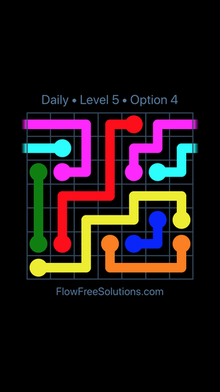 Solution and Answer to the Puzzle for Warps Date Saturday, August 10, 2019 Level 5