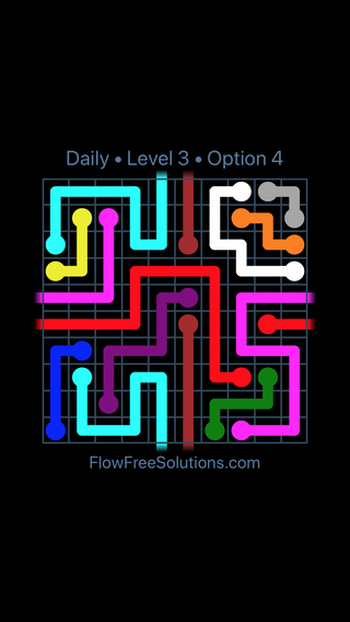 Solution and Answer to the Puzzle for Warps Date Sunday, August 11, 2019 Level 3