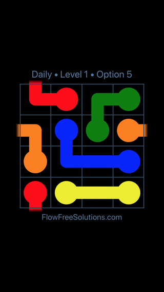 Solution and Answer to the Puzzle for Warps Date Monday, May 23, 2016 Level 1