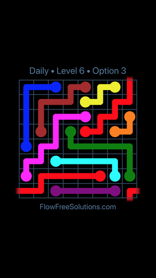 Solution and Answer to the Puzzle for Warps Date Monday, May 23, 2016 Level 6