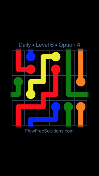 Solution and Answer to the Puzzle for Warps Date Monday, March 14, 2016 Level 6