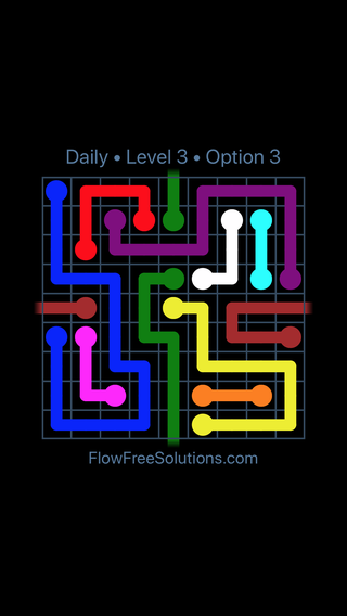 Solution and Answer to the Puzzle for Warps Date Wednesday, August 17, 2016 Level 3