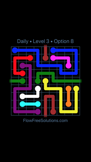 Solution and Answer to the Puzzle for Warps Date Wednesday, August 14, 2019 Level 3