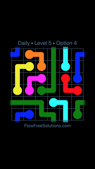 Solution and Answer to the Puzzle for Warps Date Wednesday, May 25, 2016 Level 5
