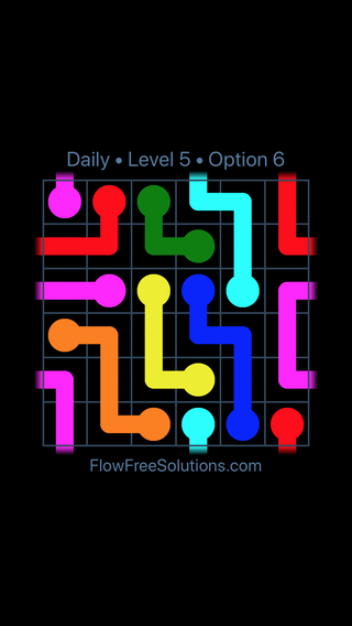 Solution and Answer to the Puzzle for Warps Date Thursday, August 15, 2019 Level 5