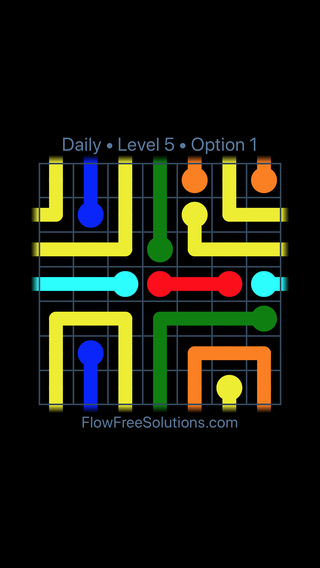 Solution and Answer to the Puzzle for Warps Date Saturday, August 20, 2016 Level 5