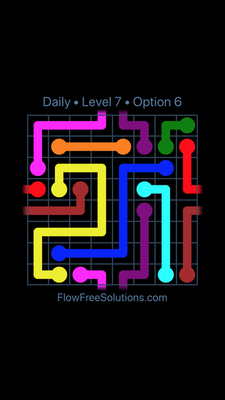 Solution and Answer to the Puzzle for Warps Date Sunday, May 29, 2016 Level 7