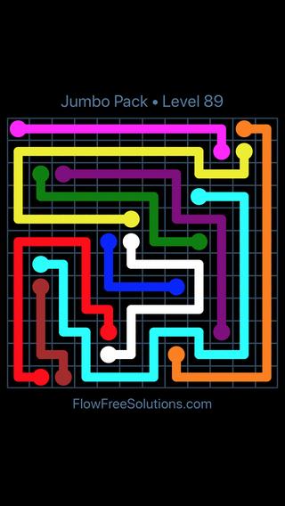 flow free jumbo pack 12x12 level 29